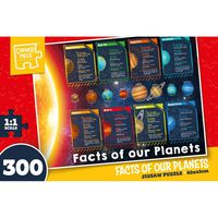 Facts of our Planets 300 Piece Jigsaw Puzzle