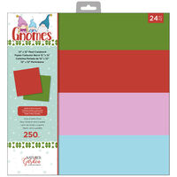 Nature's Garden Gnomes Pearl Cardstock Pad 12x12