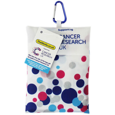 Cancer Research UK Folding Shopping Bag - Supporting CRUK image number 1