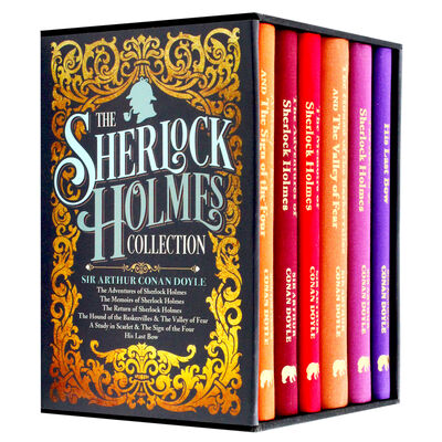 The Sherlock Holmes Collection: 6 Book Box Set image number 1
