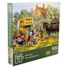 Meeting the Neighbours 500 Piece Jigsaw Puzzle image number 1