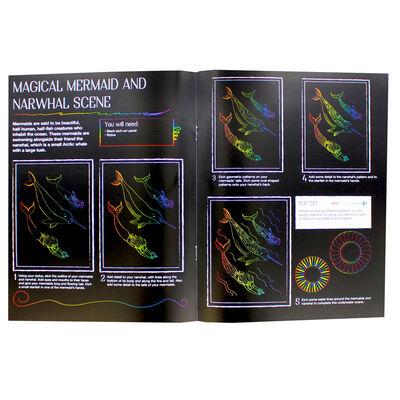 Kaleidoscope Etch Art Creations: Mythical Worlds image number 3