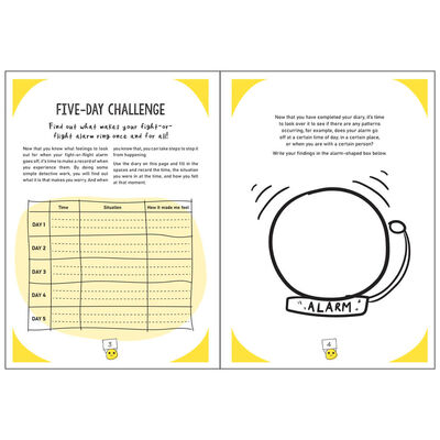 The Worry Workbook: The Worry Warriors' Activity Book image number 3