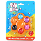 Mega Pop 'N' Spin Bubble Popping Fidget Game: Assorted image number 2