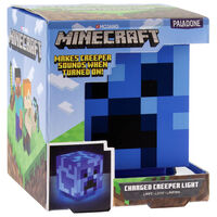 Minecraft Charged Creeper Lamp