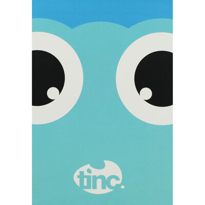 Tinc A5 Blue Tonkin Lined Notebook image number 1