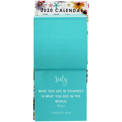 A Daily Dose of Happiness 2020 Desk Calendar image number 2