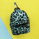 Blue Leopard Print Mini Backpack image number 3