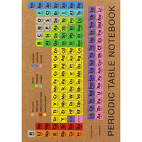 A5 Flexi Periodic Table Lined Notebook