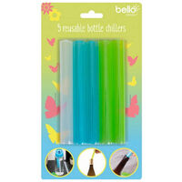 Reusable Bottle Chillers: Pack of 5