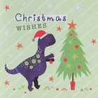 Dinosaur Christmas Cards: Pack Of 20 image number 4