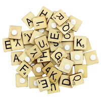 Wooden Letter Tiles - Pack of 114