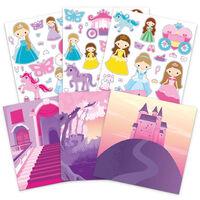 Reusable Sticker Book: Princess Scenes