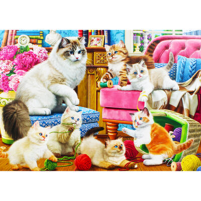 Funny Kittens 1000 Piece Jigsaw Puzzle image number 3