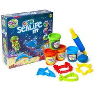 Dough-Tastic Glow in the Dark Sealife Set