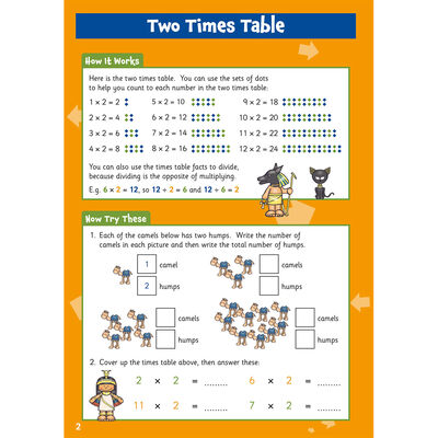 Times Table Activity Book: Ages 5-7 image number 2