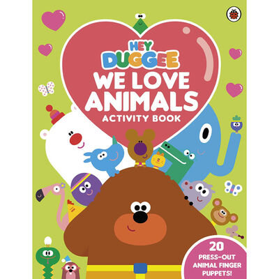 Hey Duggee: We Love Animals Activity Book image number 1