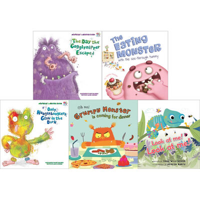 Friendly Monsters: 10 Kids Picture Books Bundle image number 3
