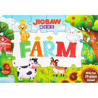 Jigsaw Book: Farm