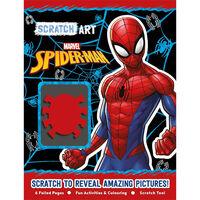Marvel Spiderman: Scratch Art