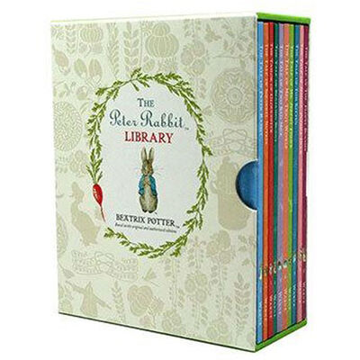 Peter Rabbit Library and Collapsible Storage Box Bundle image number 3