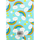 A5 Soft Cover Rainbow Plain Notebook image number 3