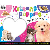 Kittens and Puppies Activity Chest