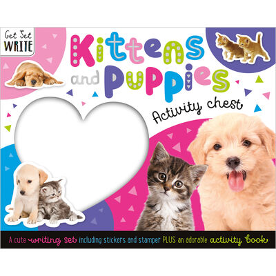 Kittens and Puppies Activity Chest image number 1