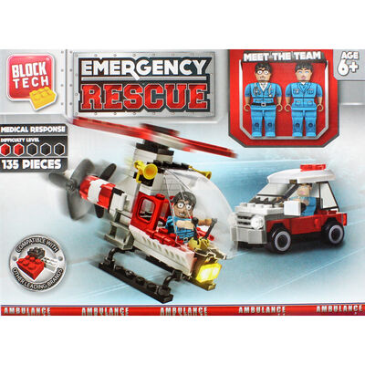 Block Tech Emergency Rescue Set image number 2