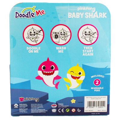 Doodle Me Pink Mommy Shark Plush image number 4