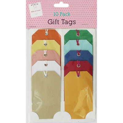 Craft Gift Tags - Pack Of 10 image number 1