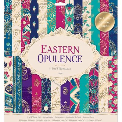 Eastern Opulence Paper Pad 12 x 12 Inch image number 1