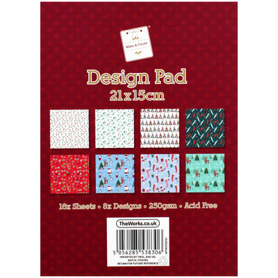 Traditional Christmas Design Pad image number 2