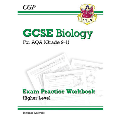 CGP GCSE Biology Grade 9-1: Exam Practice Workbook image number 1