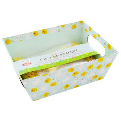 Mini Easter Cardboard Hamper image number 1