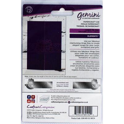Gemini Elements Wrap Die - Wedding Chimes image number 2