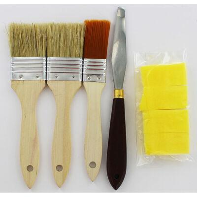 8 Piece Brush and Sponge Set image number 2