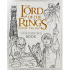 Lord of the Rings Movie Trilogy Colouring Book image number 1