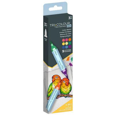 Spectrum Noir TriColour Aqua Markers: Colour Basics image number 2