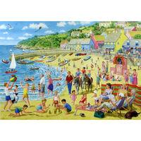Nostalgic Beach Scene 1000 Piece Jigsaw Puzzle
