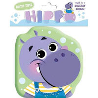 Hippo Shaped Bath Book