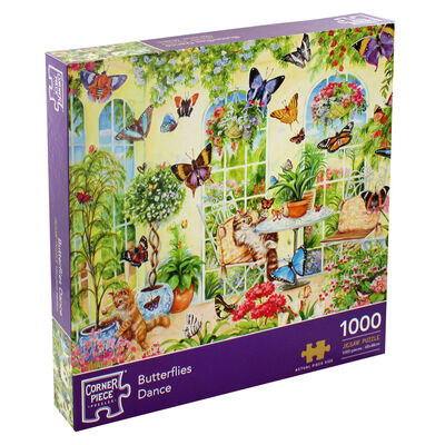 JCP 1000pc Butterflies Dance image number 1