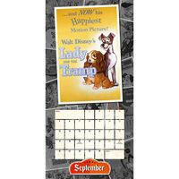Disney Vintage Posters 2022 Square Calendar