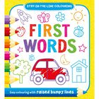 First Words Colouring Book image number 1