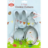 Easter Cookie Cutters - 5 Pack