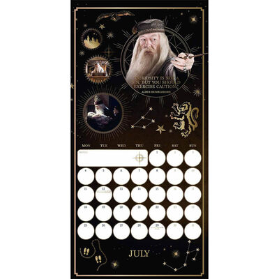 Official Harry Potter 2022 Square Calendar image number 2