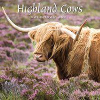 2021 Calendar: Highland Cows