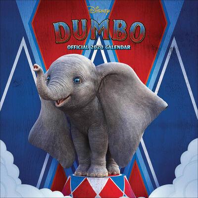 Disney Dumbo Official 2020 Square Calendar image number 1