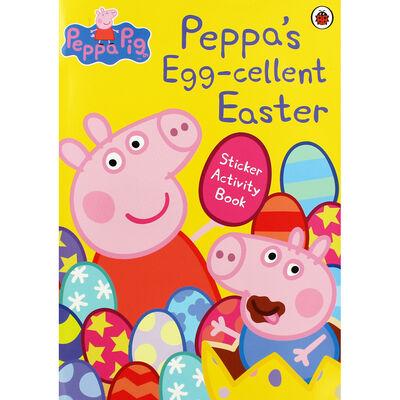 Peppa Pig: Peppa's Egg-cellent Easter Sticker Activity Book image number 1
