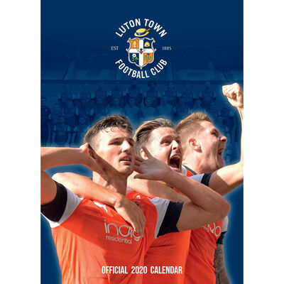 Luton Town FC Official 2020 Calendar image number 1
